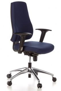 Schreibtischstuhl GECKO Office blau