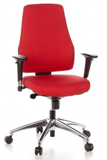Bürostuhl GECKO Office rot