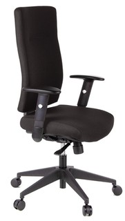 Schreibtischstuhl GAZELLE schwarz