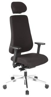 Schreibtischstuhl ADLER schwarz