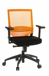 Bürostuhl FLAMINGO Office schwarz/orange