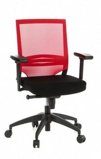 Bürostuhl FLAMINGO Office schwarz/rot
