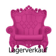 LITTLE QUEEN OF LOVE Kinder-Sessel fuchsia / violett