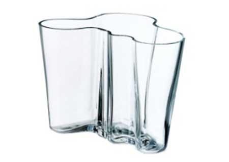 Alvar Aalto Vase Savoy 160 mm klarglas