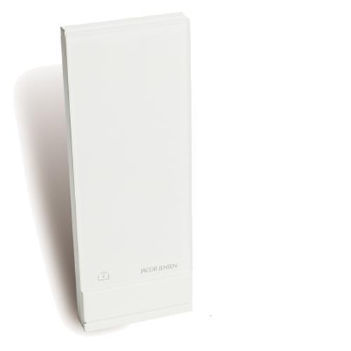Zusatz Funksensor Jacob Jensen Wetterstation 1 für Innen- oder Aussentemperatur weiß