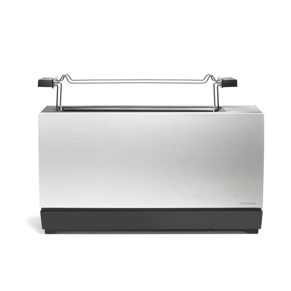 ONE SLOT Toaster Jacob Jensen Aluminium silber