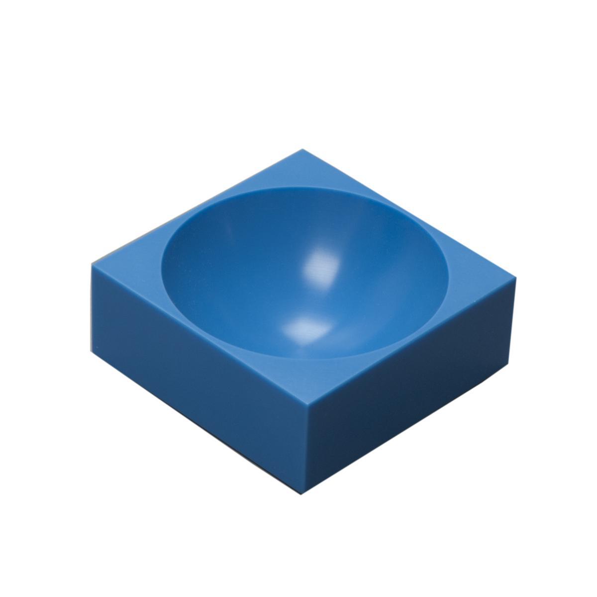 farmer block Magnet-Schale 8 x 8 cm, Jodhpur blau