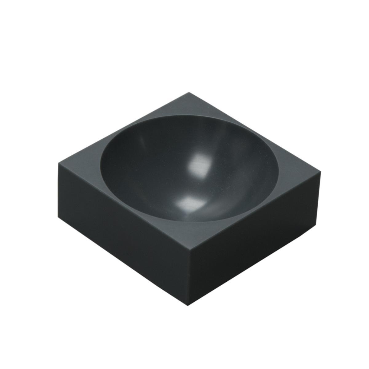 farmer block Magnet-Schale 8 x 8 cm, Urban schwarz