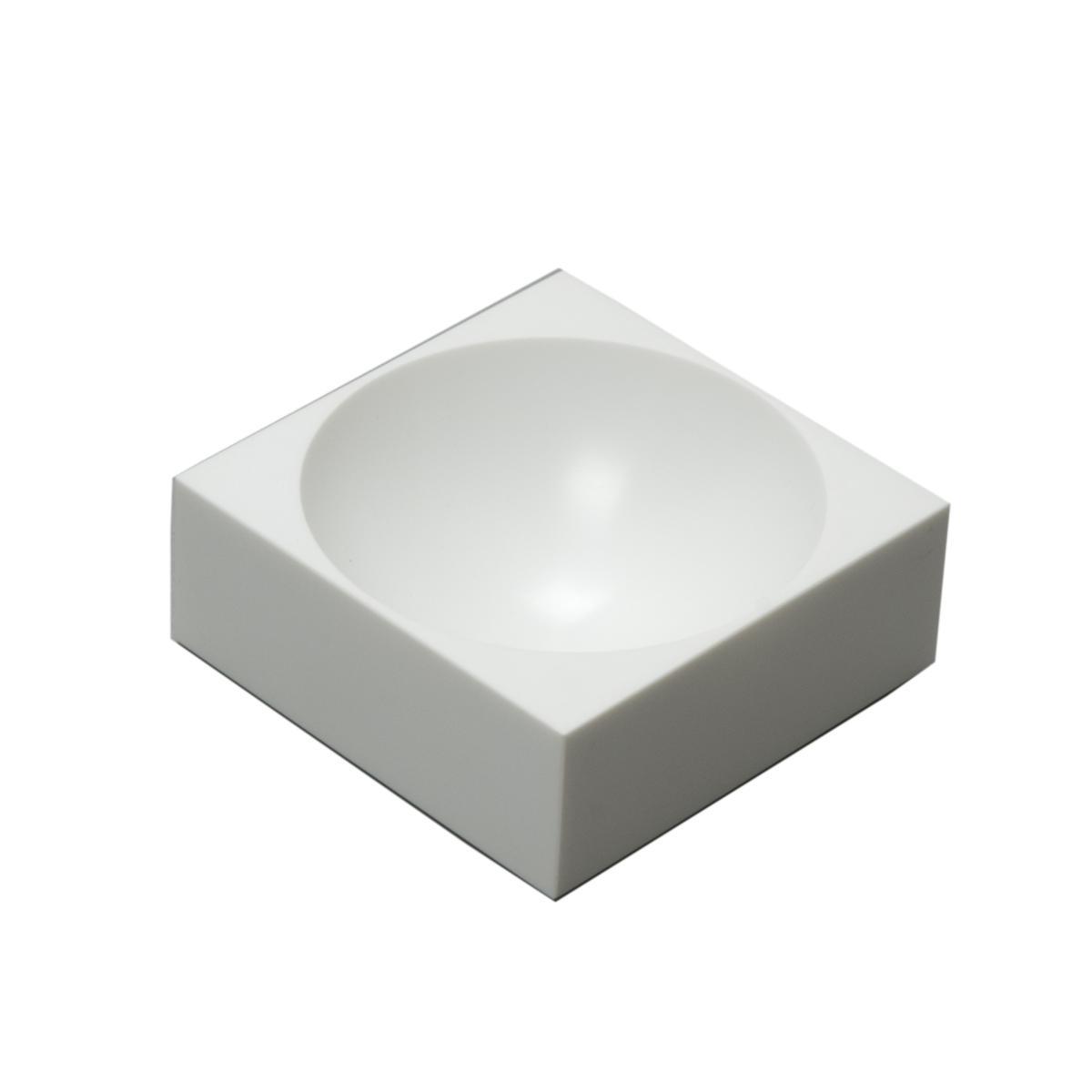 farmer block Magnet-Schale 8 x 8 cm, Caltrava weiß