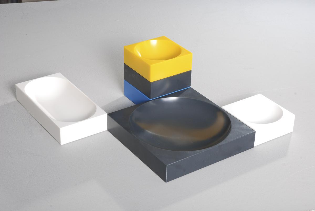 farmer-block Magnet-Schale 8 x 8 cm