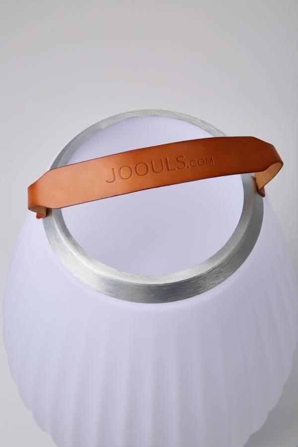 JOOULY Weinkühler / Bluetooth-Lautsprecher mit Ledergriff