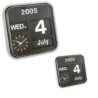kalender wanduhr big flip von karlsson uhren bei. Black Bedroom Furniture Sets. Home Design Ideas