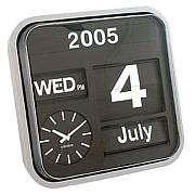 Kalender Wanduhr Big Flip von Karlsson Uhren
