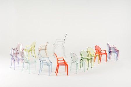 Louis Ghost Stapelstuhl alle Farben kreativ