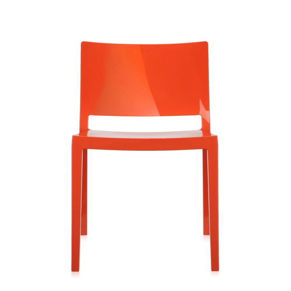 Lizz Stapelstuhl Piero Lissoni orange poliert (02)