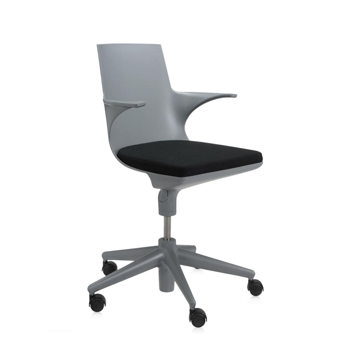 Spoon Chair Drehstuhl grau