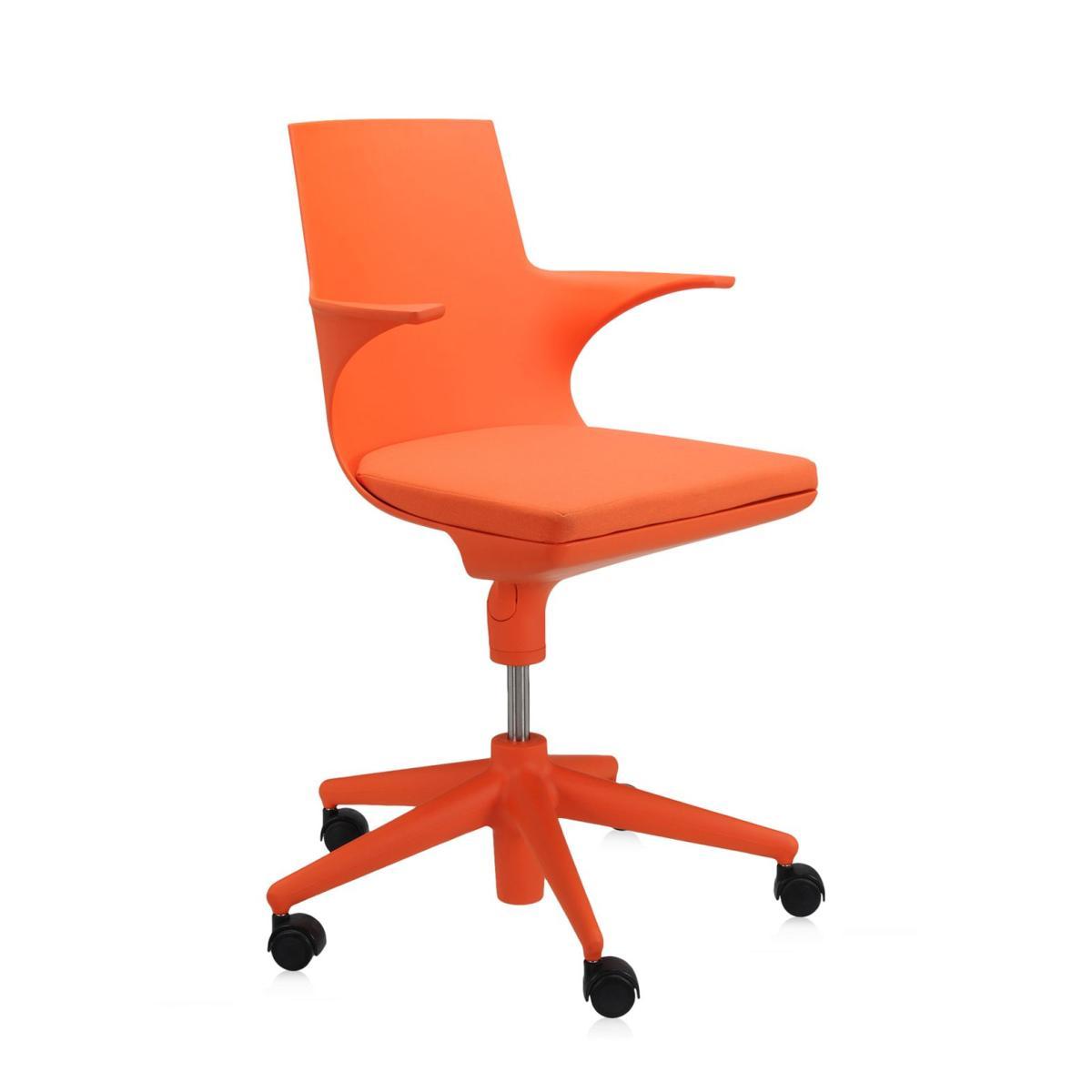 Spoon Chair Drehstuhl orange