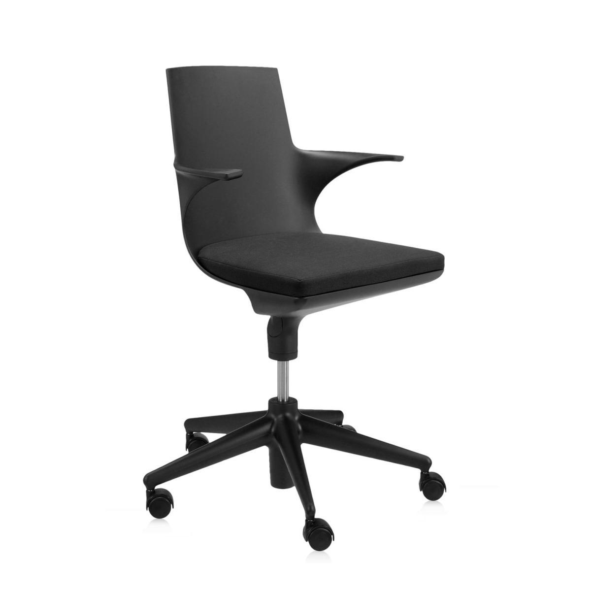 Spoon Chair Drehstuhl schwarz