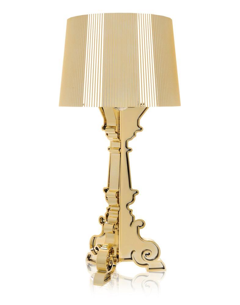 Bourgie Leuchte, gold, höhenverstellbar