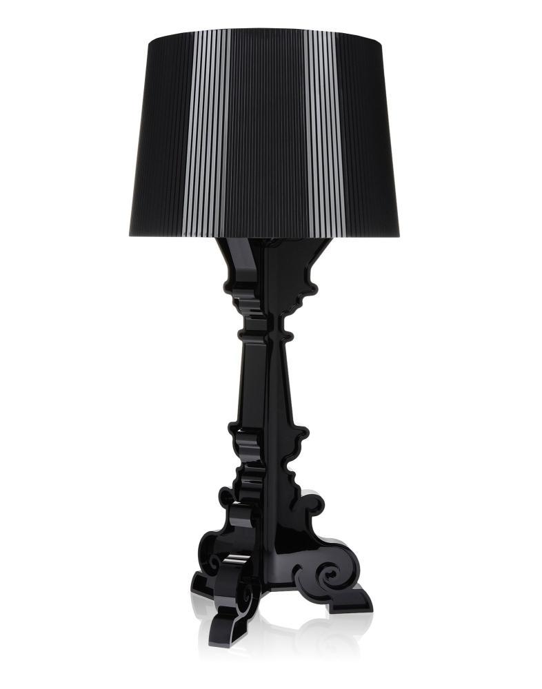 Bourgie Leuchte, schwarz, höhenverstellbar