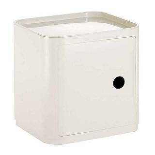 componibili container quadratisch von kartell homeform. Black Bedroom Furniture Sets. Home Design Ideas