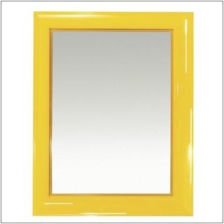 Francois Ghost small Spiegel transparent V1 gelb