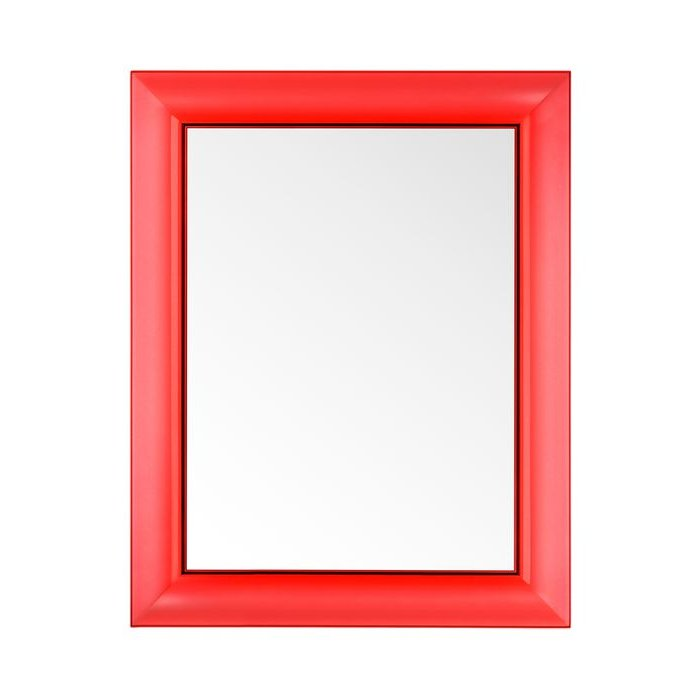 Francois Ghost small Spiegel transparent V5 rot