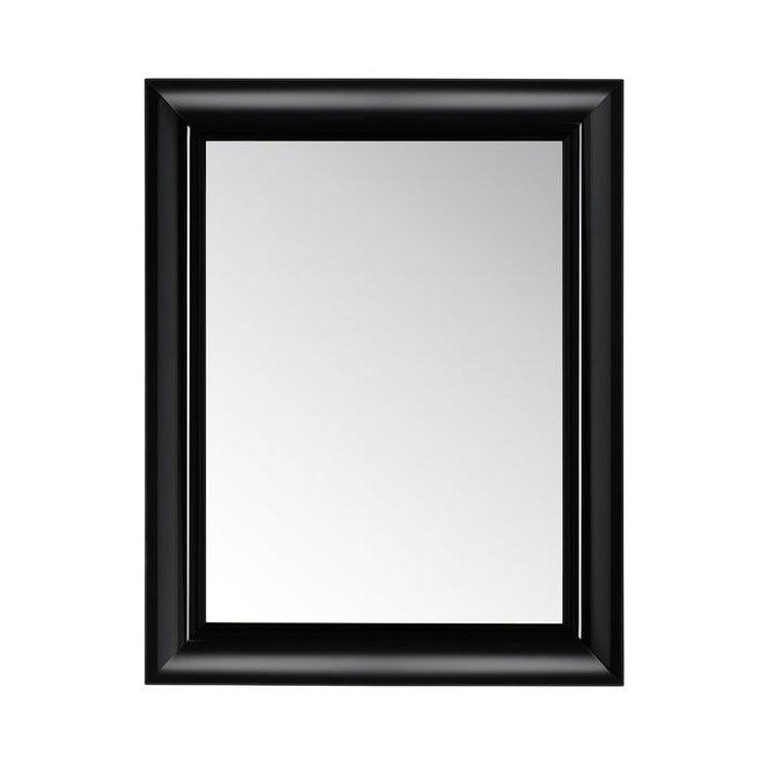 Francois Ghost small Spiegel undurchsichtig E6 schwarz