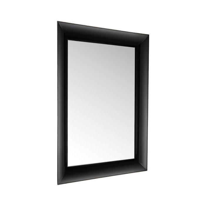 Francois Ghost Wandspiegel schwarz deckend
