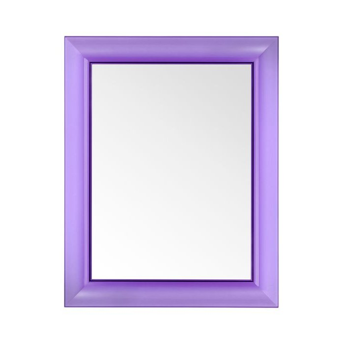 Francois Ghost small Spiegel transparent V4 violett