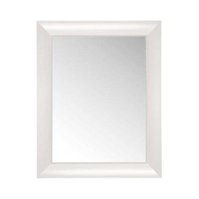 Francois Ghost small Spiegel undurchsichtig E5 weiß