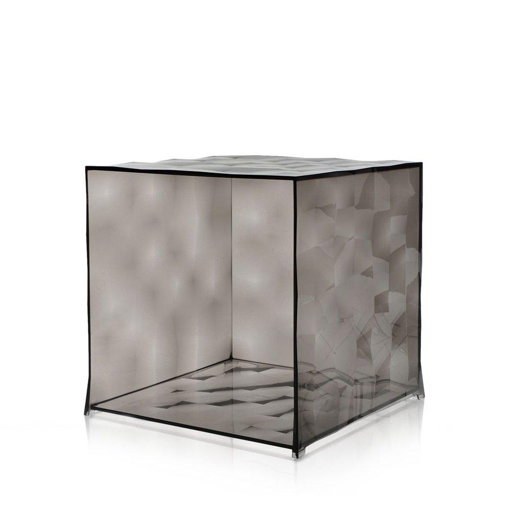 OPTIC Container ohne Tür transparent fumé/rauchfarben