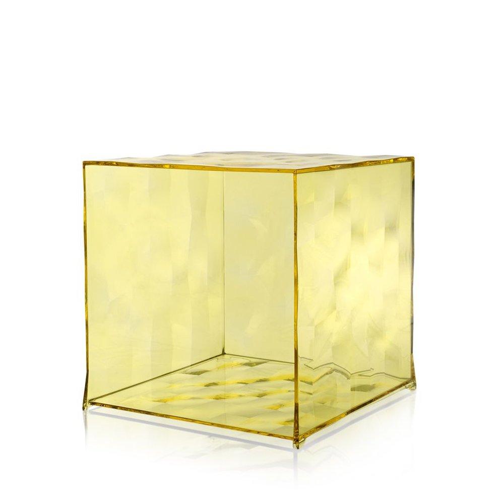 Optic Container von Kartell, gelb
