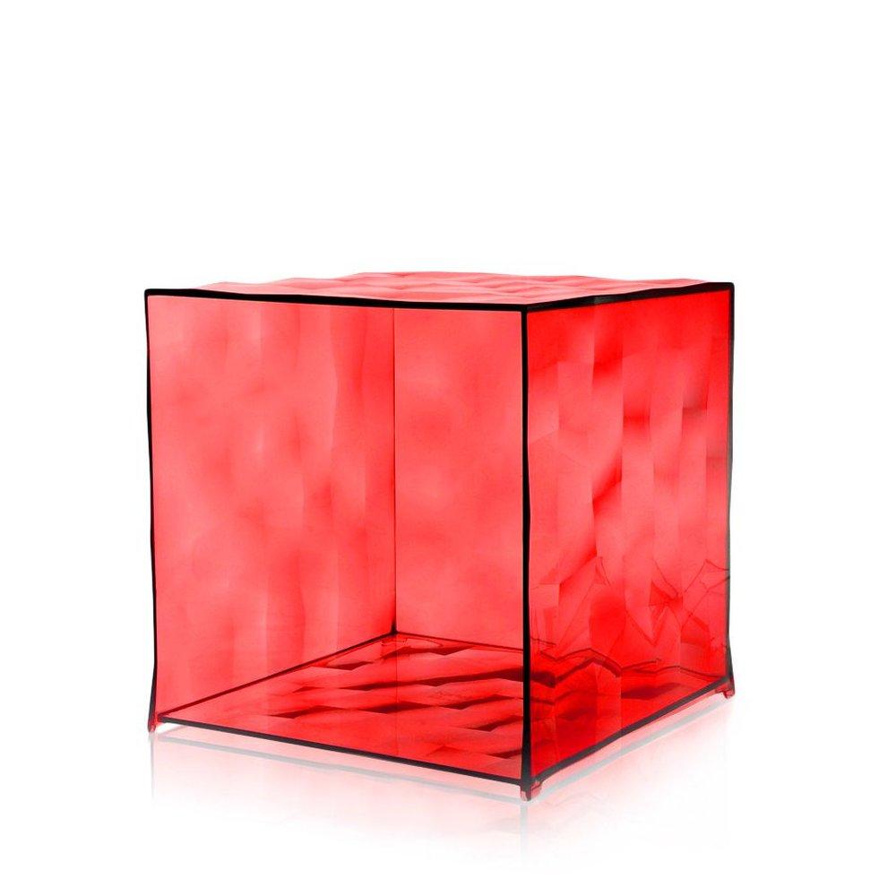 OPTIC Container ohne Tür transparent rot