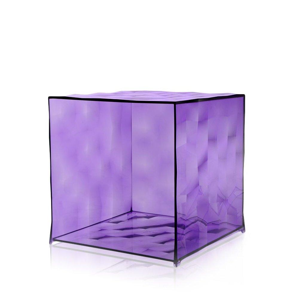 OPTIC Container ohne Tür transparent violett