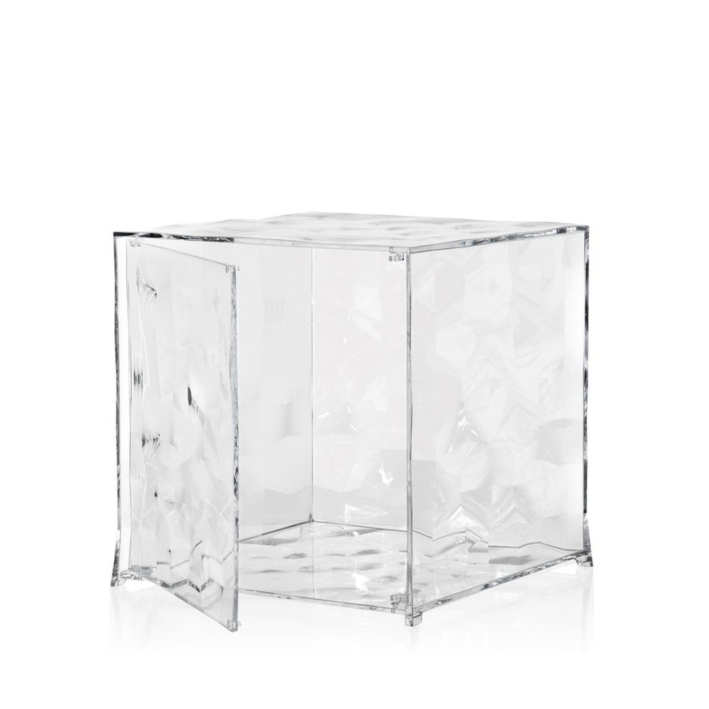 OPTIC Container mit Tür kristallklar transparent