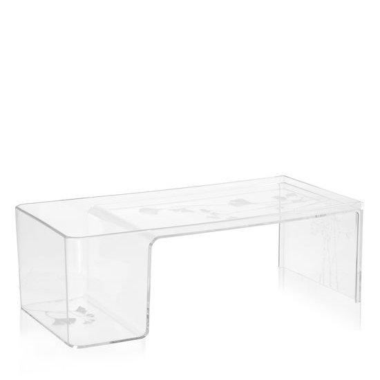 Usame Couchtisch transparent B4 glasklar