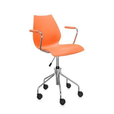 Maui Drehstuhl / Bürostuhl orange