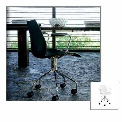 maui drehstuhl b rostuhl von kartell bei. Black Bedroom Furniture Sets. Home Design Ideas
