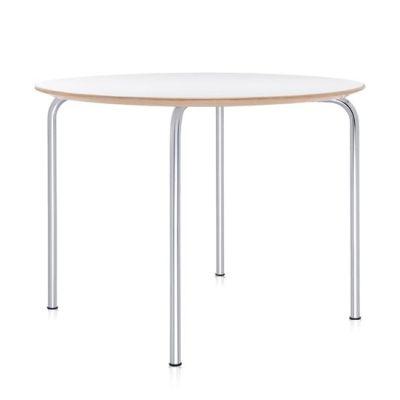 Maui Tisch rund 100 cm, H 72 cm, zinkweiß (2M)
