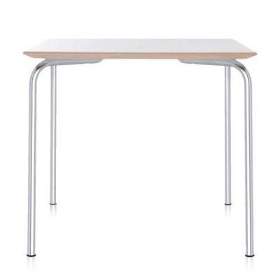 Maui Tisch quadratisch 80x80 cm zinkweiß (2M)