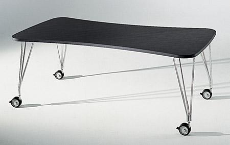 Max Esstisch/Schreibtisch mit Füssen 190/90 schiefergrau