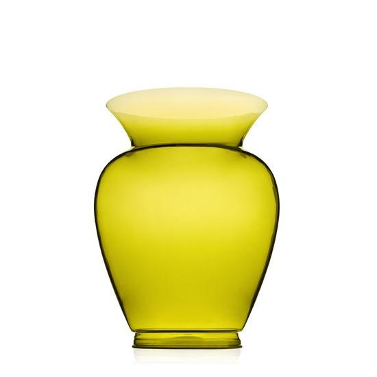 La Boheme Gargantua Vase gelb