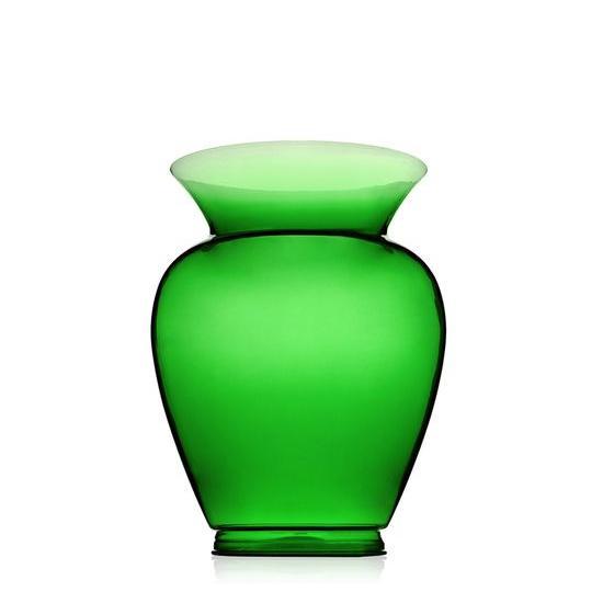 La Boheme Gargantua Vase flaschengrün