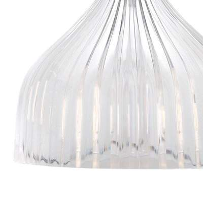 É Hängeleuchte kristallklar transparent, Detail