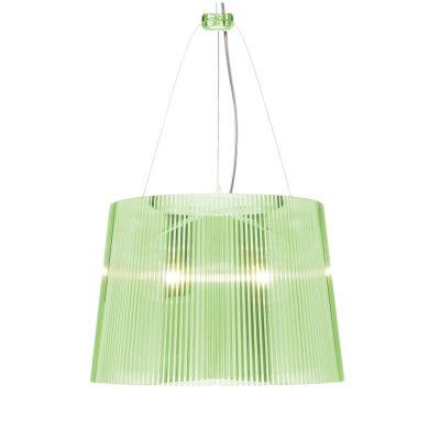 Gé Hängeleuchte transparent grün