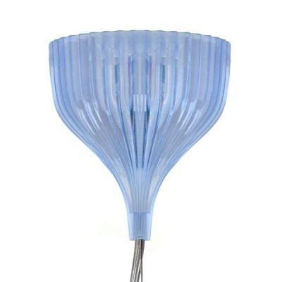 Baldachin von Gé Hängeleuchte hellblau transparent