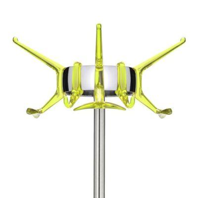 Hanger Garderobenständer, gelb, Detail Krone