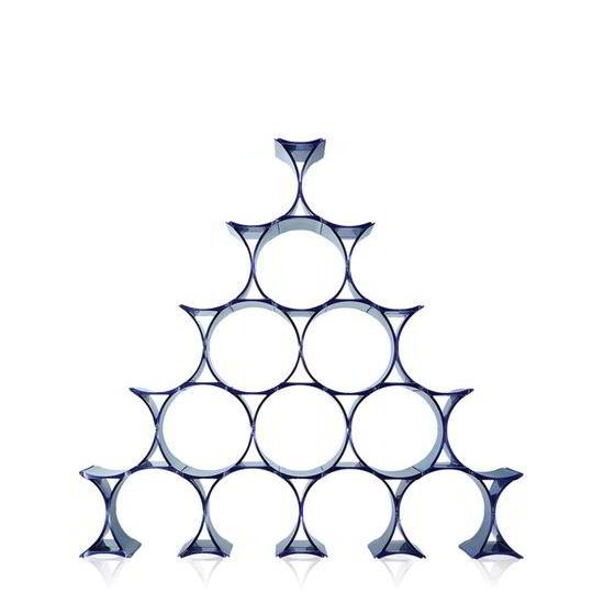 INFINITY Flaschenregal blau