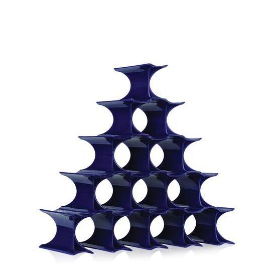 Infinity Flaschenregal, blau